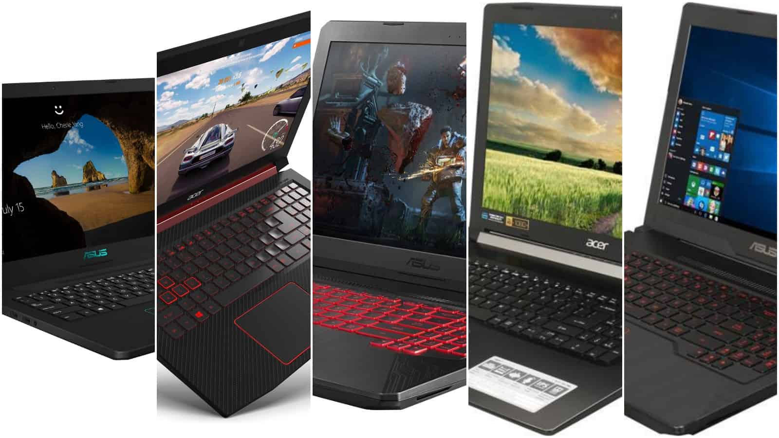 5 Best Gaming Laptops Under $800