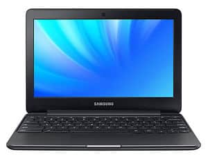 A flat front view of the Samsung Chromebook XE500C13-K04US