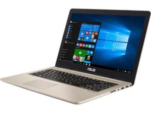 The Left side view of ASUS VivoBook