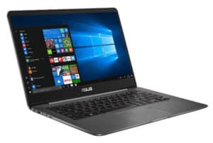 A right side view of the Laptop Asus Zenbook UX501VW-DS71T